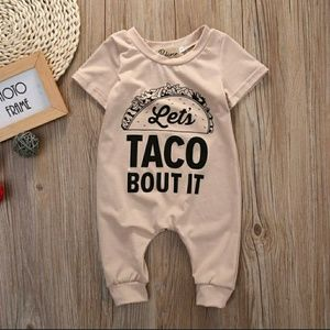 Other - Lets taco bout romper